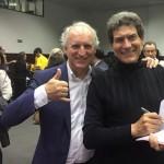 João Catalão e Tony Correia (o eterno ator global)